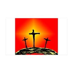 Three Crosses Wall Decal