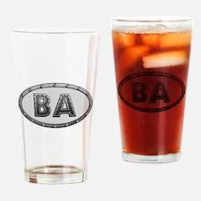 BA Metal Drinking Glass