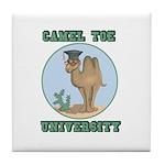 Camel Toe University Tile Coaster