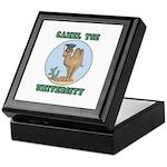 Camel Toe University Keepsake Box