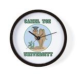 Camel Toe University Wall Clock