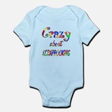 Crazy About Scrapbooking Infant Bodysuit
