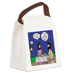 Protection? Canvas Lunch Bag
