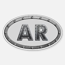 AR Metal Decal