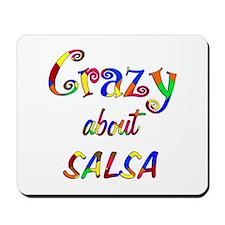 Crazy About Salsa Mousepad