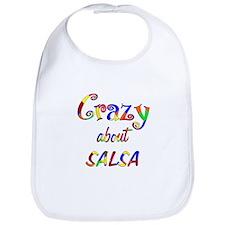 Crazy About Salsa Bib
