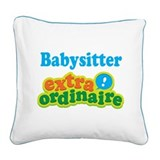 Babysitter Square Canvas Pillows