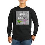 Parakeet vs Paraclete Long Sleeve Dark T-Shirt