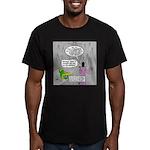 Parakeet vs Paraclete Men's Fitted T-Shirt (dark)