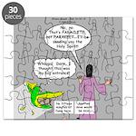 Parakeet vs Paraclete Puzzle