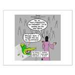 Parakeet vs Paraclete Small Poster