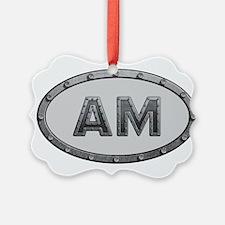 AM Metal Ornament