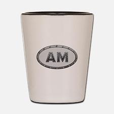AM Metal Shot Glass