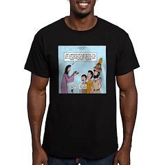 Peter's Fruit Hat Men's Fitted T-Shirt (dark)