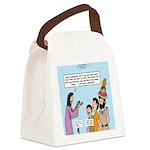 Peter's Fruit Hat Canvas Lunch Bag
