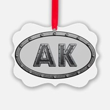 AK Metal Ornament