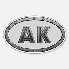 AK Metal Decal