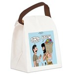 Peter Bearing Fruit Canvas Lunch Bag
