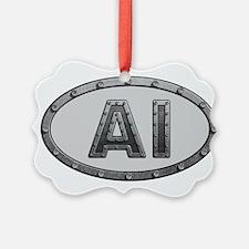 AI Metal Ornament
