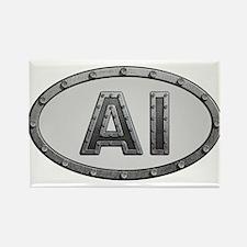AI Metal Rectangle Magnet