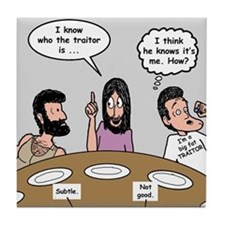Judas the Traitor Tile Coaster