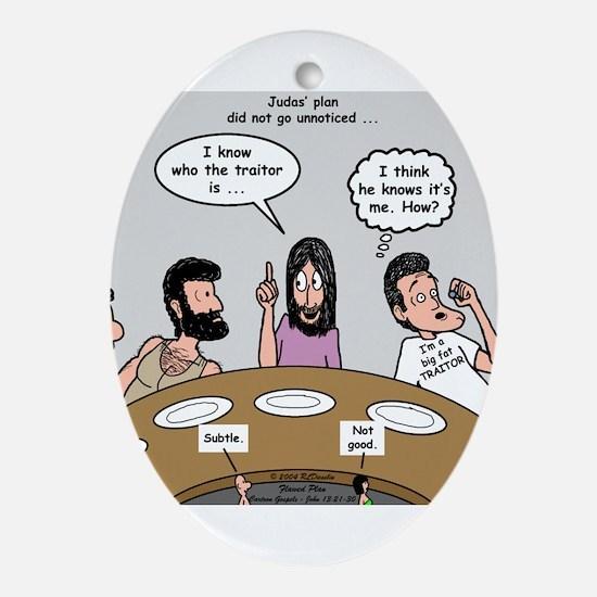 Judas the Traitor Ornament (Oval)
