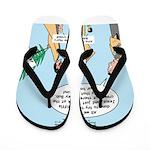 Hosanna Jesus Flip Flops