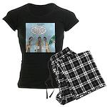 Hosanna Jesus Women's Dark Pajamas