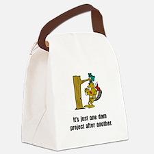 Beaver Dam Canvas Lunch Bag