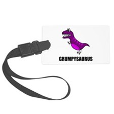 Grumpysaurus Luggage Tag