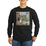 Sheep Knows Long Sleeve Dark T-Shirt