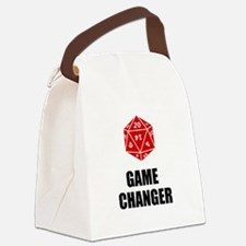 Game Changer Canvas Lunch Bag