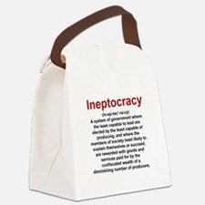 Ineptocracy Canvas Lunch Bag