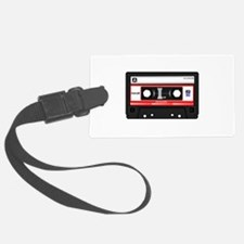 Cassette Black Luggage Tag