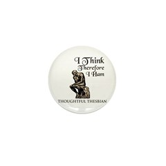 The Pensive Actor's Mini Button (10 pack)