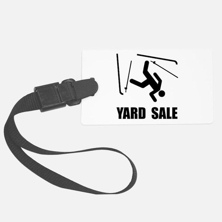 Ski Yard Sale Luggage Tag