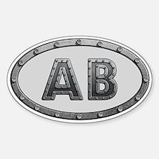AB Metal Decal