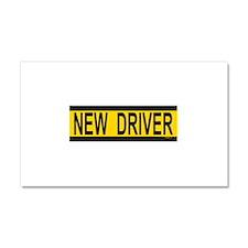 Unique New driver Car Magnet 20 x 12