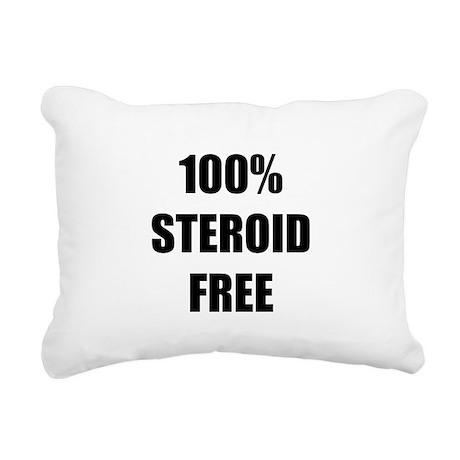 Steroid Free Rectangular Canvas Pillow