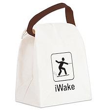 iWake Canvas Lunch Bag