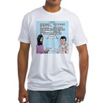 Who's the Messiah Fitted T-Shirt