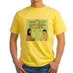 Who's the Messiah Yellow T-Shirt