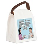 Who's the Messiah Canvas Lunch Bag
