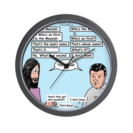Who's the Messiah Wall Clock
