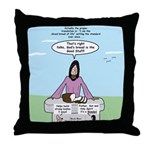 Sliced Bread of Life Throw Pillow