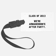 2013 Armageddon After Party Black.png Luggage Tag