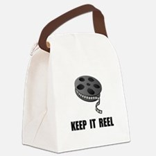 Keep Movie Reel Canvas Lunch Bag