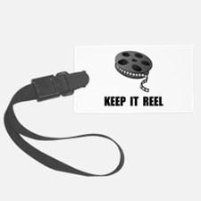 Keep Movie Reel Luggage Tag