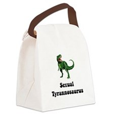 Sexual Tyrannosaurus Canvas Lunch Bag