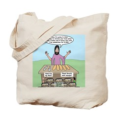 Feeding the 5,000 Tote Bag